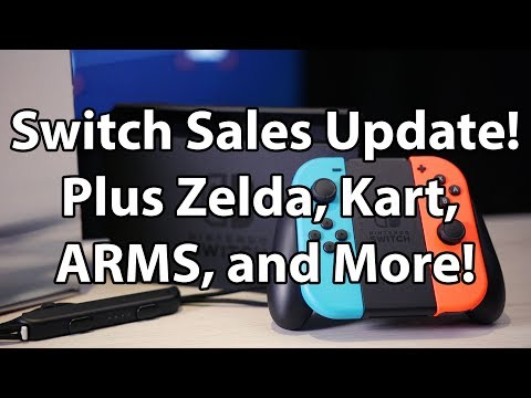 Switch LTD Sales Updated, + Game Sales Updates Show Nintendo Doing Great!