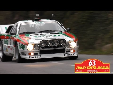 Rally Costa Brava 2015 – FIA Historic Rally – Lancia 037 Sound + Rally Action