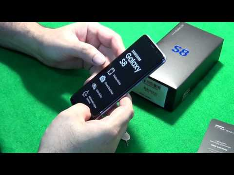 Samsung Galaxy S8 Brasil - Unboxing, configuração inicial e primeiras impressões