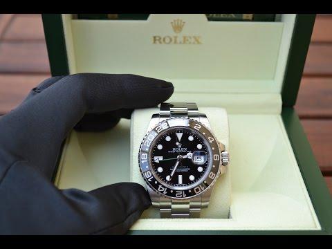 Recensione: Rolex GMT Master II (116710LN)