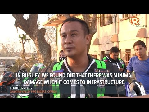 Bayanihan: Riders help responders in typhoon-hit Cagayan