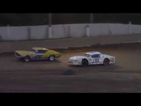 Old Bradford Speedway Pure Stock Feature 8-5-18