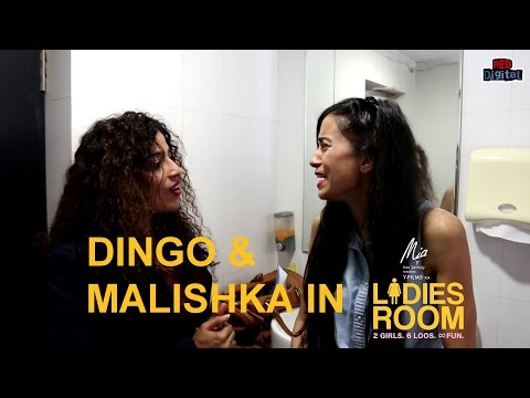 Dingo and Malishka in Red FM's Ladies Room