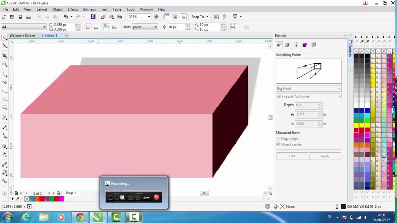 Cara Membuat Kotak atau Box di CorelDRAW x7 terbaru 2017 ...