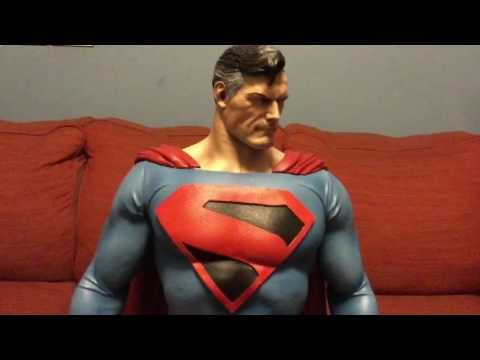 PrototypeZ Kingdom Come Superman Statue Review