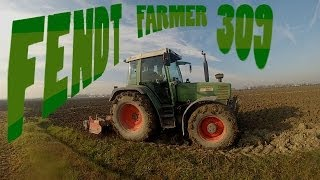 Fendt Farmer 309 con Erpice Rotante Feraboli 2,5 m