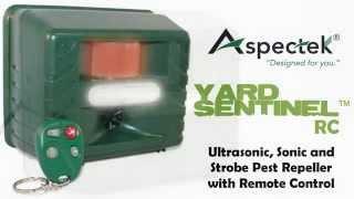 Yard Sentinel RC Remote Control Functions