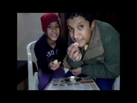 Lemon eating challenge. Brother vs Sister