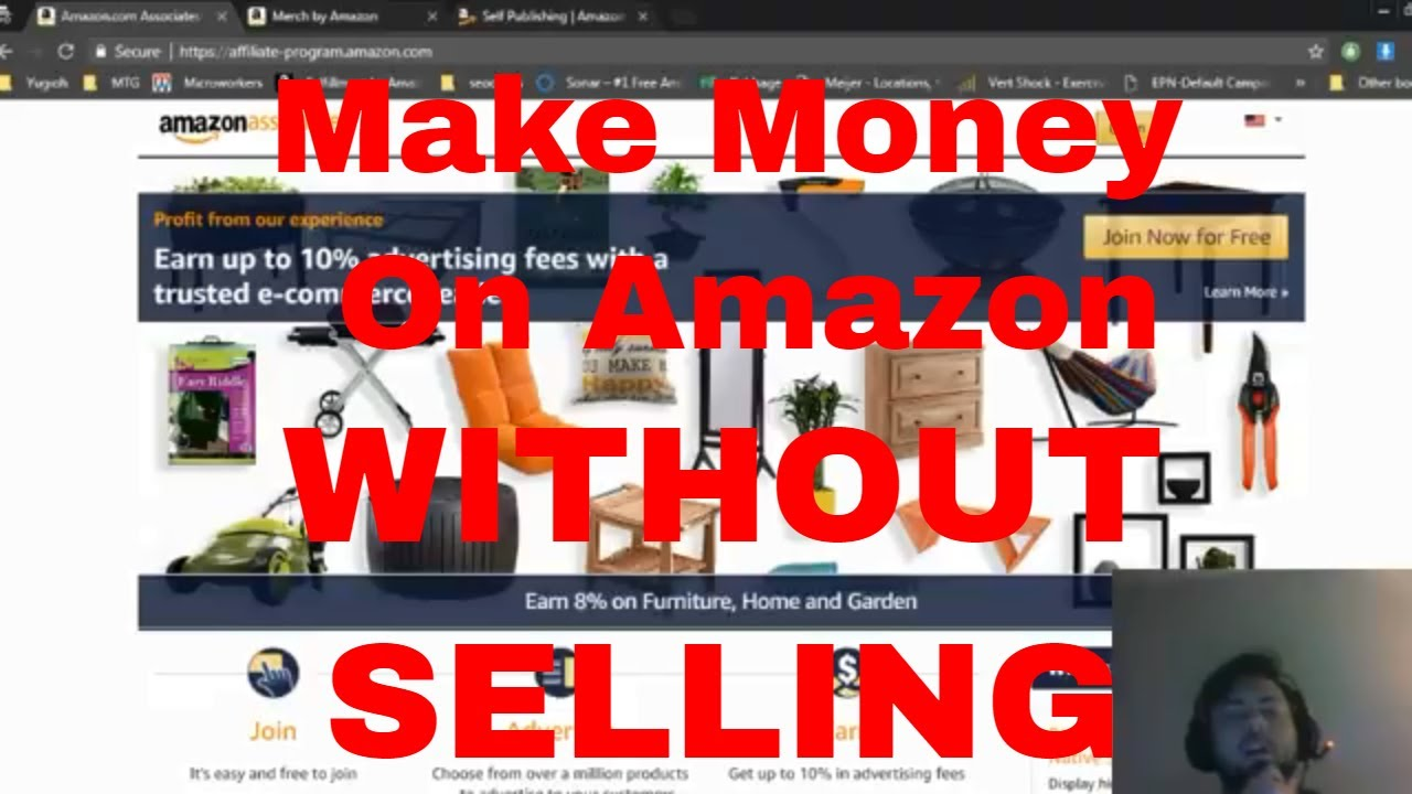 make money on amazon without selling