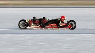 Mark Bjorklund 2000cc Twin Ducati Bonneville Stories