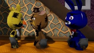 LittleBigPlanet 3 - Night Fight at Fredbear's Nightmare - LBP3 FNAF Animation | EpicLBPTime
