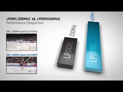 LPDDR2 LPDDR1 Comparison