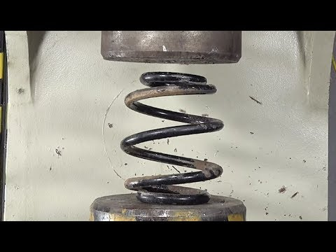 Thick Spring VS200 Tons Pressure, The Result Is Miserable