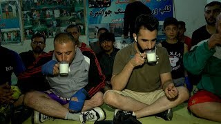 بامداد خوش - خیابان - دیدار سمیر صدیقی از یکی از کلپ های ورزشی شهر کابل