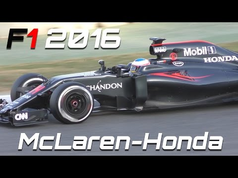 F1 2016 Sound - Mclaren Honda Best of F1 Testing (Alonso vs Button)