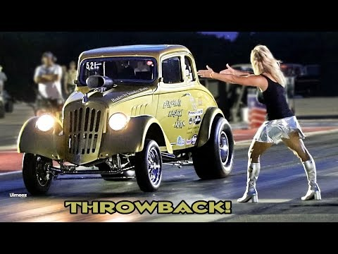 THROWBACK AA GASSERS! WILD BURNOUTS! DRY HOPS! DAY/NIGHT ACTION! GLORY DAYS! BYRON DRAGWAY!