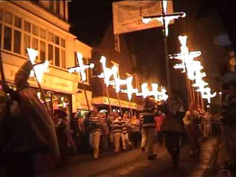 England - Bonfire Night in Lewes - November 5