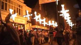 England - Bonfire Night in Lewes - November 5
