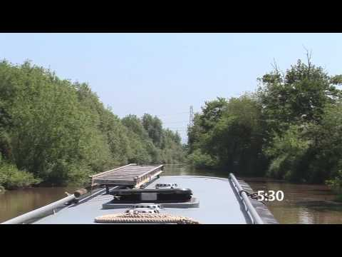 The Parting to Gloucester Lock