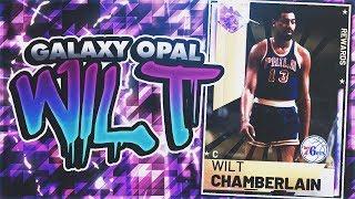 GALAXY OPAL WILT CHAMBERLAIN!! FIRST OFFICIAL GAMEPLAY! BEST CARD! NBA 2K19 MYTEAM GAMEPLAY