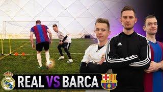 PIŁKARSKIE WYZWANIA | REAL MADRYT VS BARCELONA