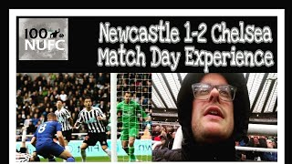 Robbed by the referee! Newcastle United 1-2 Chelsea - Match Day Experience