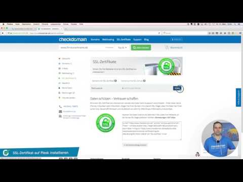 SSL Zertifikat auf Plesk installieren - Самые лучшие видео
