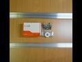 SKM 80 Установка нижних роликов в дверцы