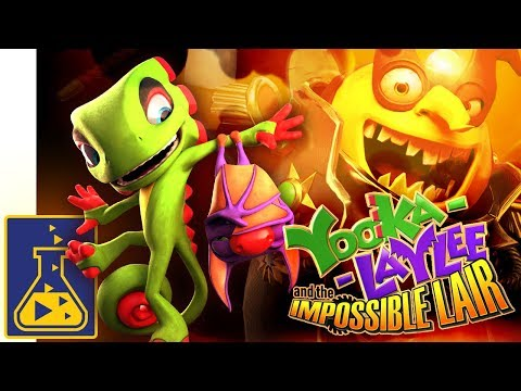 Yooka-Laylee and the Impossible Lair: Reveal Trailer