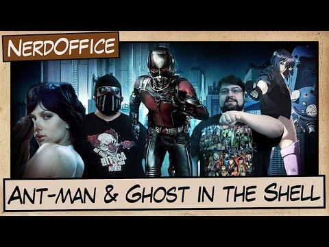 Homem-Formiga e Ghost in the Shell