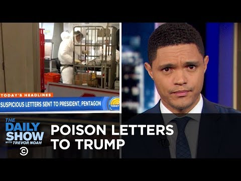"Poison Letter Sent to Trump & Russian Trolls Bash ""The Last Jedi"" 
