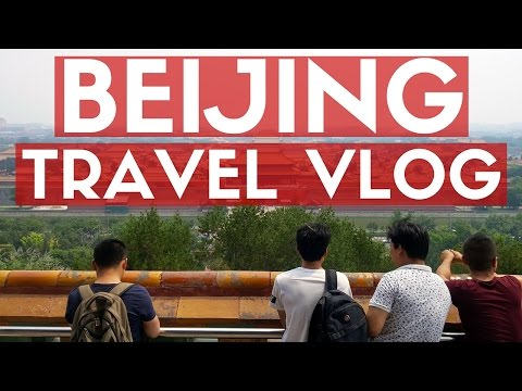 BEIJING TRAVEL VLOG - Sightseeing & Craft Beer!
