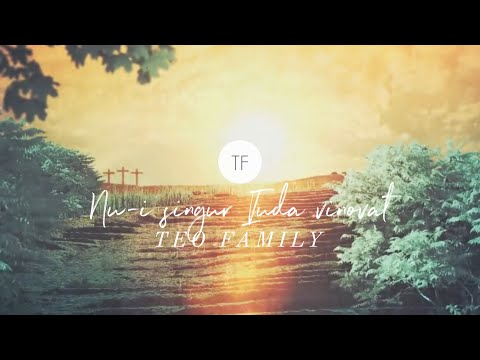Nu-i Singur Iuda Vinovat - Teo Family [Official Lyric Video]