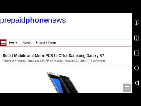 Samsung GALAXY S® 7 Coming to Boost Mobile & MetroPCS