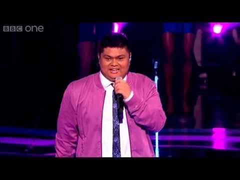 The Voice UK 2013 | Joseph Apostol performs Your Love Keeps Lifting Me Higher - Live Quarter-Finals
