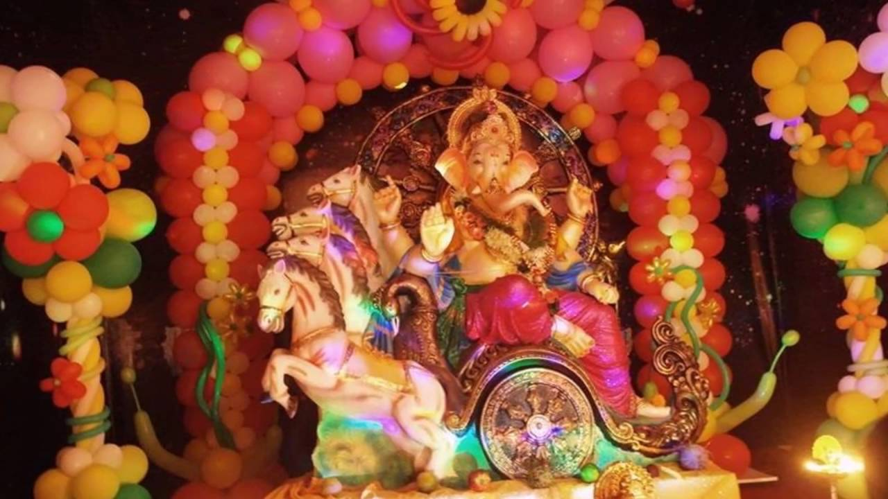 Ganpati Decoration Ideas At Home With Theme 2017 Ganesh Chaturthi For You
