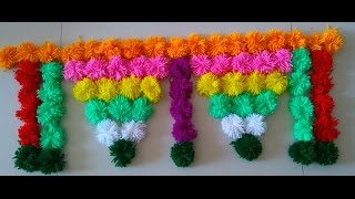handmade toran  | DIY Innovative & beautiful  Woolen Toran | Door Hanging Toran Part -3