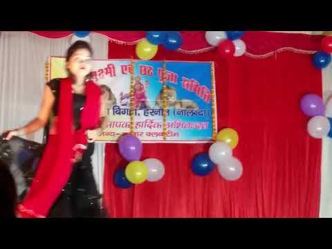 ललकी चुनरिया ओढ़ Pawan Singh & Akshara Singh Dular Devi Maiya Ke Bhojpuri Devi Ge Archestra dance |