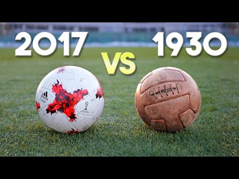 1930 match ball test! Timeless experience
