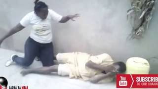 funny clips kenya Zombie Woman in Africa Scared a man to Death Pure african talent season1 Episode02
