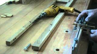 How To Build The Dowelmax Hall Table Part 1 - Building The Front Fascia Panel