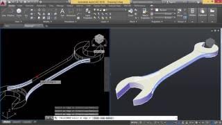 Autocad - Konversi 2D ke 3D (Kunci Pas)