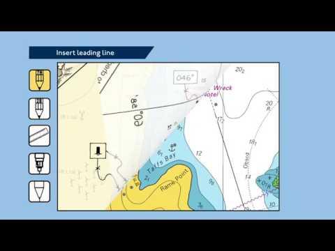 VD2   Cách thêm đường chập tiêu lên hải đồ