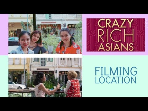 "Film Location of Crazy Rich Asian Movie ""Bok Bok Bitch Scene"" in Singapore"