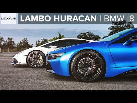 Neon Blue Bmw I8 Or Stormtrooper Huracan Lexani Wheels Youtube