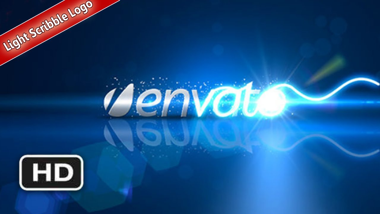 free adobe after effects template ae project light scribble logo videohive cs3 ae project file youtube