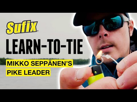 HOW-TO | Tying A Fluorocarbon Pike Leader With Mikko Seppänen | Sufix®