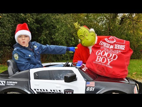 Download Youtube: Holiday 2017: The Grinch and the Kid Cops silly funny kids videos