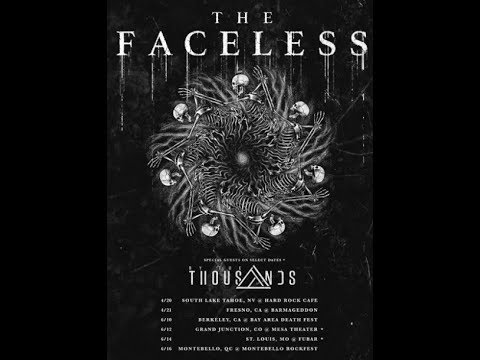 "The Faceless release live dates to ""showcase"" new band members ...!"