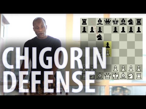 Chess openings - Chigorin Defence